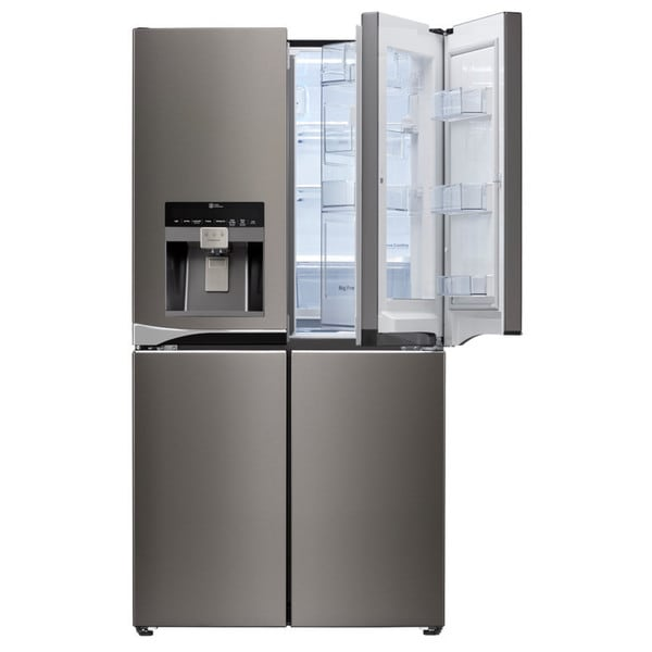 lg diamond collection 30 cubic foot 4 door french door refrigerator free shipping today. Black Bedroom Furniture Sets. Home Design Ideas