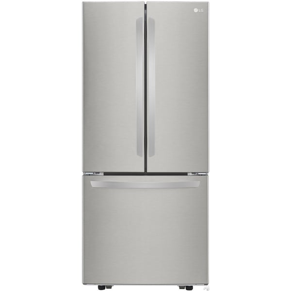 Lg 21 8 cubic foot french door refrigerator 18170625 for 18 cubic foot french door refrigerator