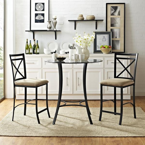 Counter Height Dining Sets On Sale: Shop Dorel Living Valerie 3-piece Counter Height Dining