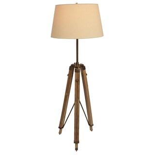 Surveyor Adjustable Height Tripod Floor Lamp