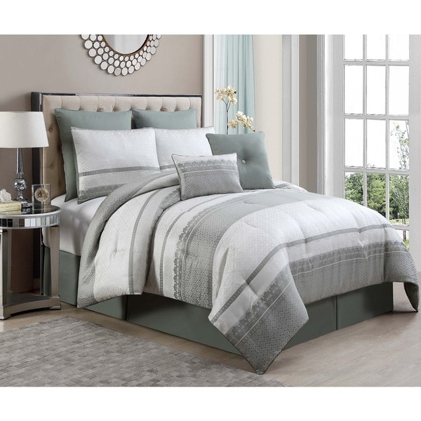 Quincy 8-piece Comforter Set