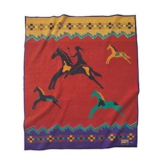 Pendleton Celebrate The Horse Heritage Collection Wool Throw