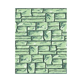 Fadeless Designs 48-inch x 50' Boxed, Flagstone