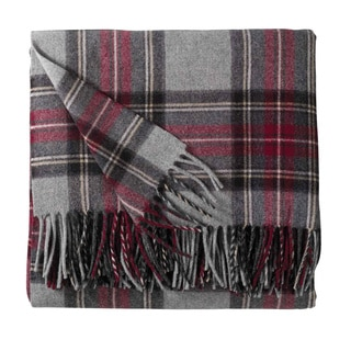 Pendleton 5th Avenue Grey Stewart Blanket