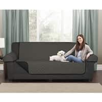 """Maytex Reversible Microfiber Sofa Pet Cover - 64.5x69"""" without arms"""