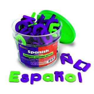 Spanish Magnetic Foam Learning Letters, 120/pkg