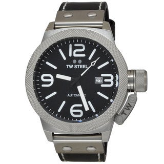 TW Steel Men's CS6 Canteen Black Watch