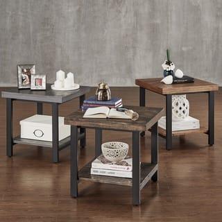 Buy Grey Nightstands Amp Bedside Tables Online At Overstock
