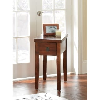 """Link to Greyson Living Plymouth Chairside End Table - 13""""W x 24""""D x 24""""H Similar Items in Living Room Furniture"""