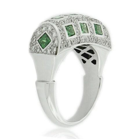 Suzy Levian White Diamond Ring