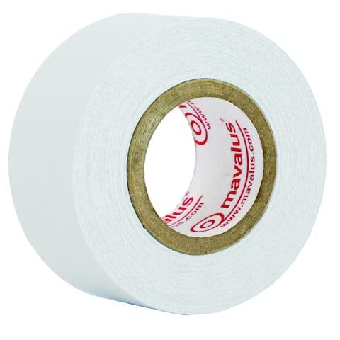 (6 RL) Mavalus Tape, 1-inch x 9 yards, White