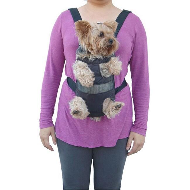 Insten Cat/ Dog Comfort Front Bag Pet Carrier (Medium), B...