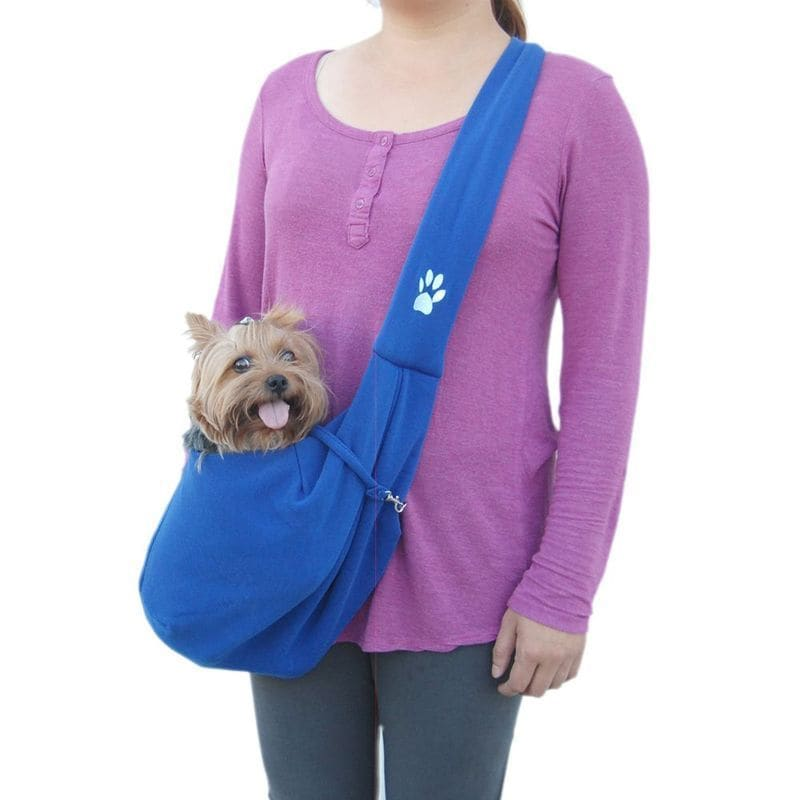 Insten Soft Cotton Sling Pet Carrier (Purple)