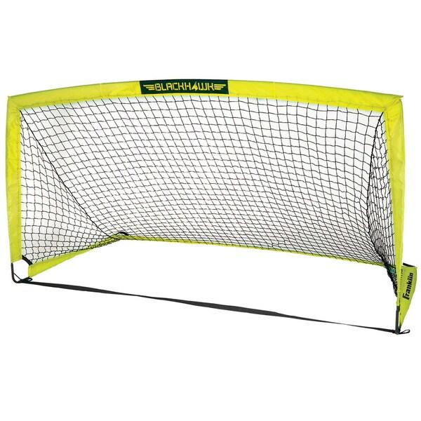 Franklin Sports 9' x 5' Fiberglass Blackhawk Goal