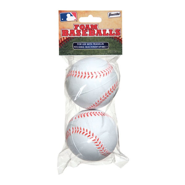 Franklin Sports Foam Replacement Balls (2 Pack)