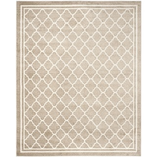 Safavieh Indoor/ Outdoor Amherst Wheat/ Beige Rug (12' x 18')