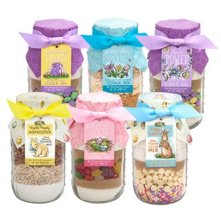 Sisters' Gourmet Layered Baking Mixes, Spring Collection (Set of 6)