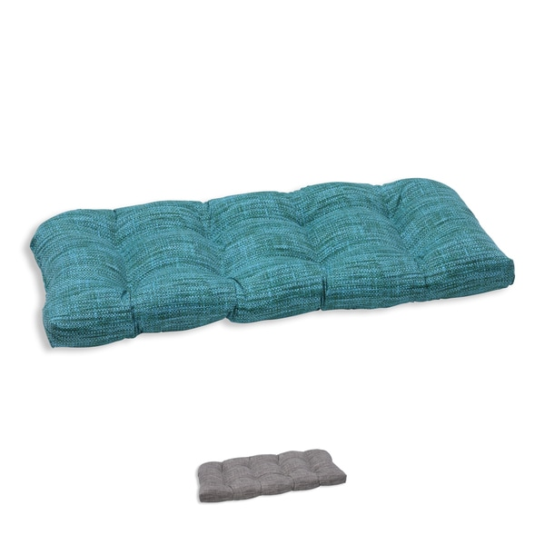 Shop Pillow Perfect Outdoor Indoor Remi Wicker Loveseat
