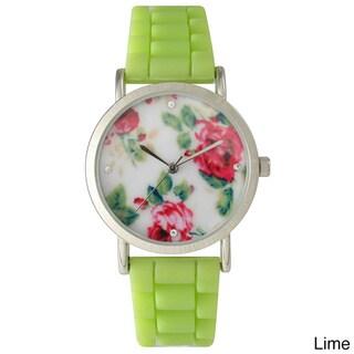 Olivia Pratt Cute Silicone Flower Watch