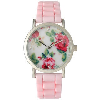 Olivia Pratt Cute Silicone Flower Watch