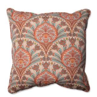 Pillow Perfect Outdoor/ Indoor Crescent Beach Cayenne 25-inch Floor Pillow