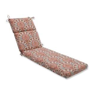 Pillow Perfect Outdoor/ Indoor Crescent Beach Cayenne Chaise Lounge Cushion