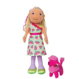 Manhattan Toy Groovy Girls Style Scents Mia and Taffy 13-inch Doll