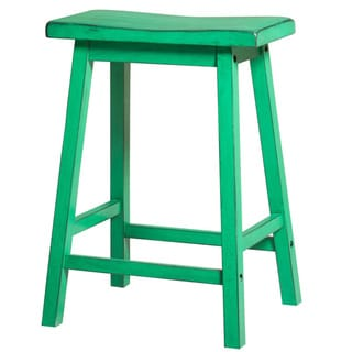 Gaucho Antique Green Bar Stool (Set of 2)