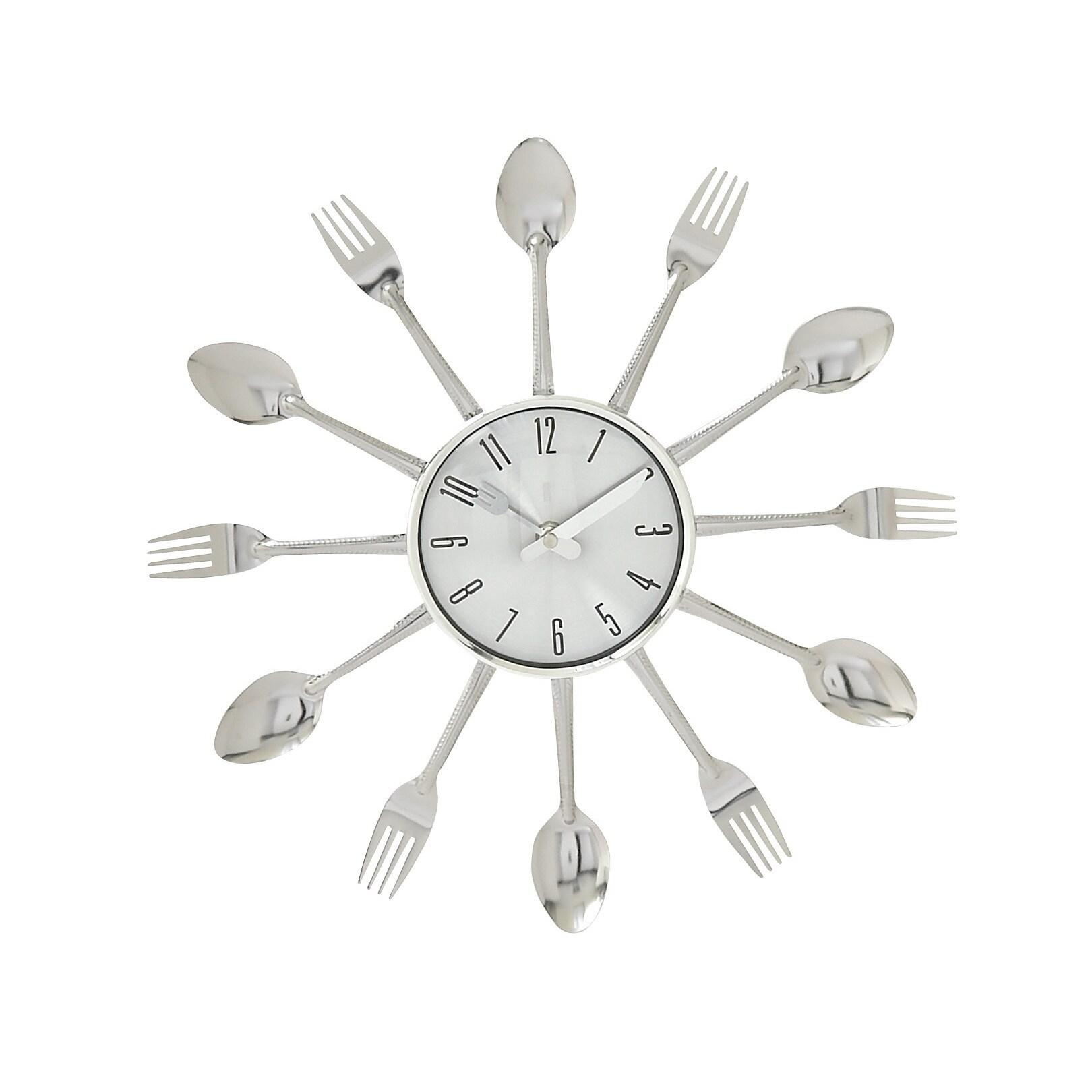 Metal Kitchen Wall Clock