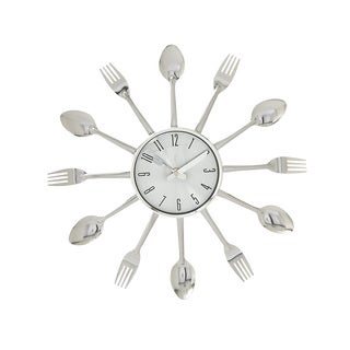Metal Kitchen Wall Clock