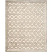 Safavieh Indoor/ Outdoor Amherst Wheat/ Beige Rug - 10' x 14'