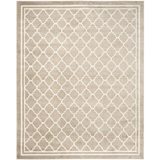 Safavieh Indoor/ Outdoor Amherst Wheat/ Beige Rug (10' x 14')