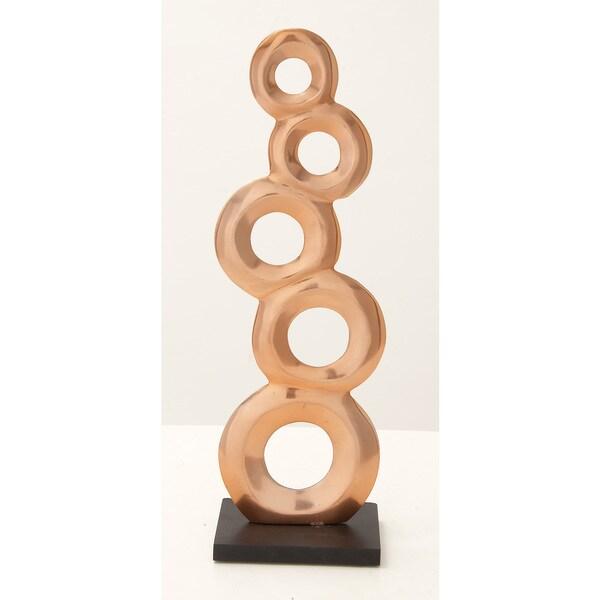 Aluminum Wood Sculpture