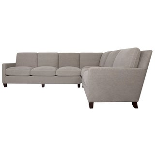 Safavieh Couture High Line Collection Lawrence Left Facing Taupe Chaise Sectional