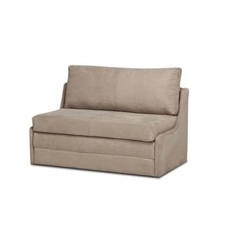 albany cocoa convertible loveseat sleeper