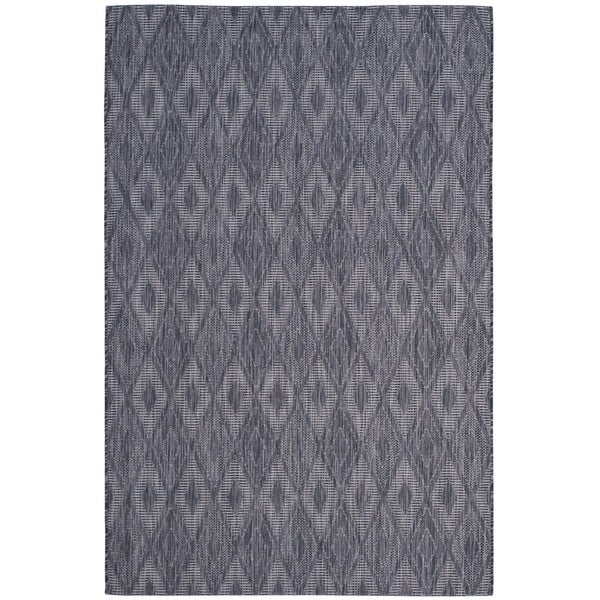 Safavieh Indoor/ Outdoor Courtyard Brown/ Brown Rug - 9' x 12'
