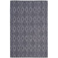 Safavieh Indoor/ Outdoor Courtyard Black/ Black Rug - 8' x 11'