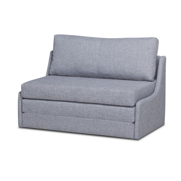 Shop Albany Marble Convertible Loveseat Sleeper Free