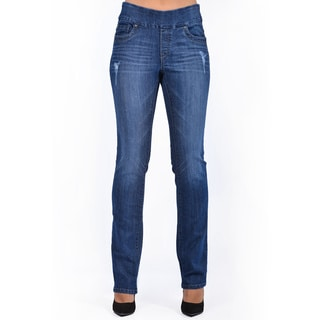 Women's Blue Slim Leg Denim