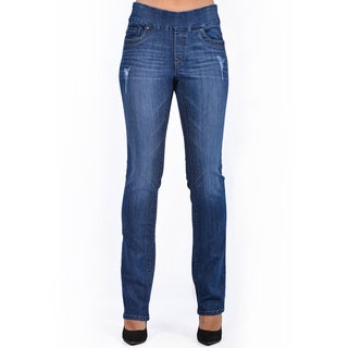 Women's Medium Blue Slim Fit Denim
