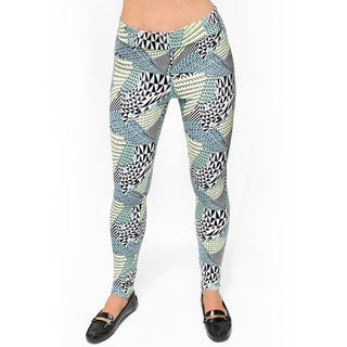 Bluberry Women's Afro tribal Everyday Legging