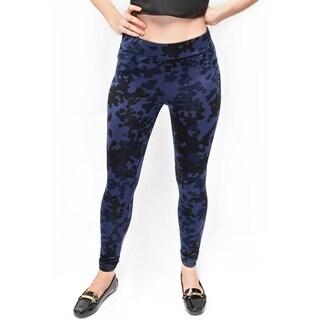 Women's Everyday Blue Cameo Legging