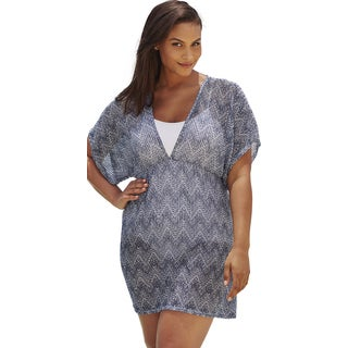 Navy Zig Zag Empire Tunic