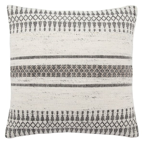 Tribal Pattern Ivory/Gray Throw Pillow 20-inch. Opens flyout.