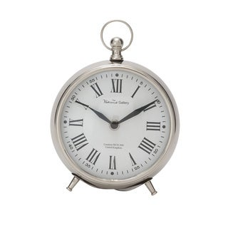 Metal 7-inch Table Clock