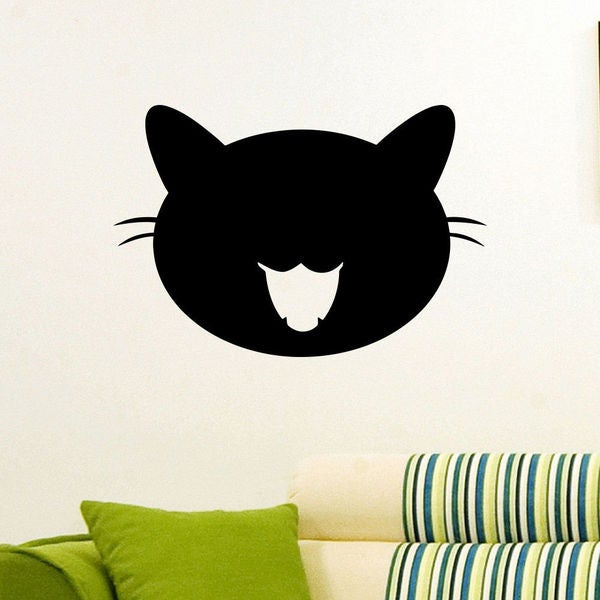 Funny Cats Wall Art Decal Sticker