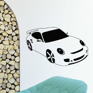 Funny Car Wall Art Decal Sticker