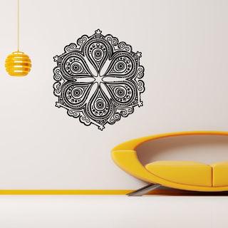 Mandala Flower Wall Art Decal Sticker