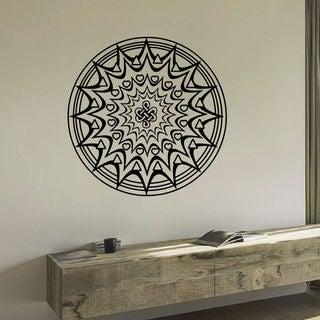 Mandala A Heart Wall Art Decal Sticker