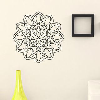 Mandala Pattern Wall Art Decal Sticker